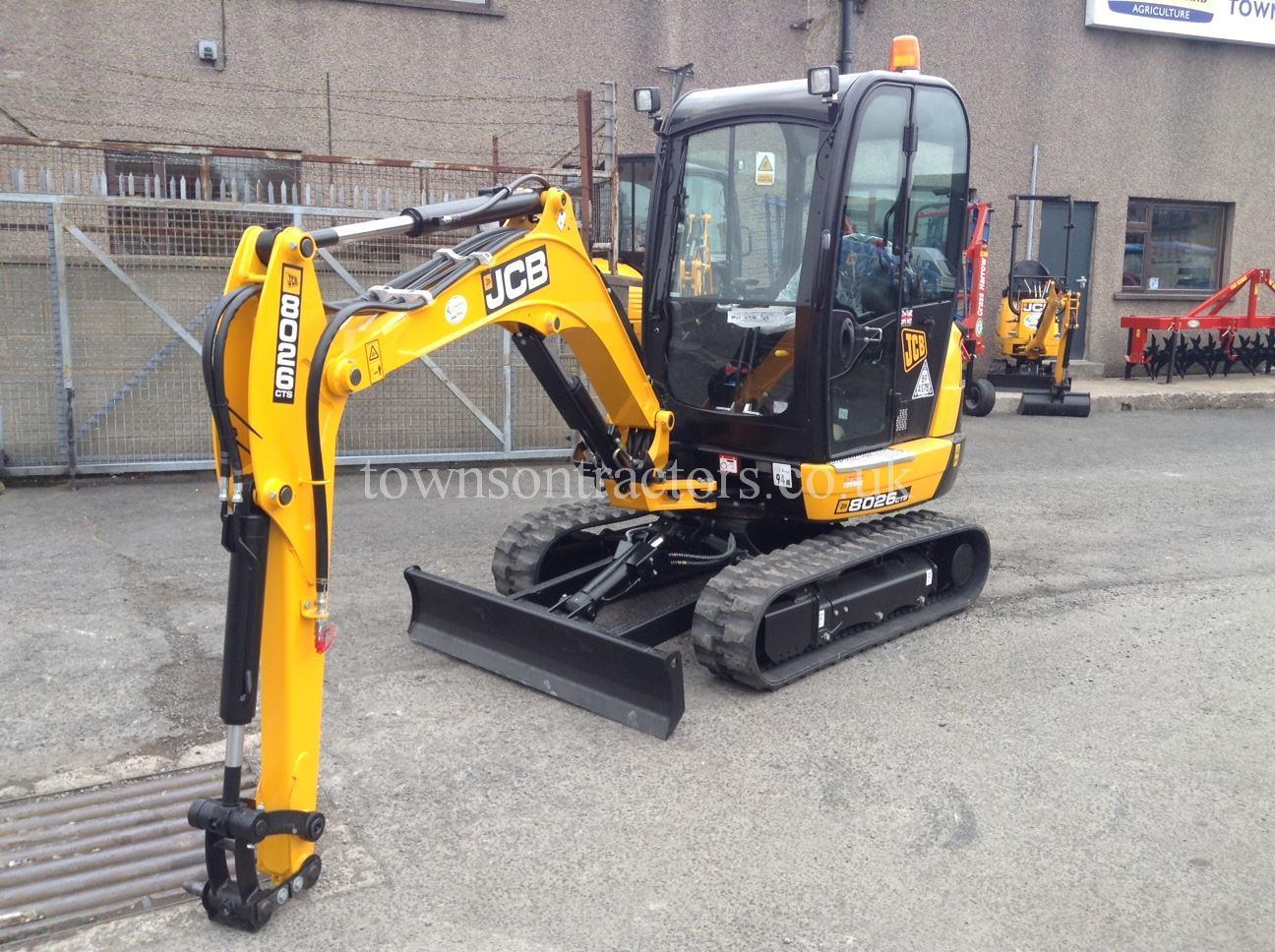 JCB 8026CTS Mini Excavator | JCB Construction equipment
