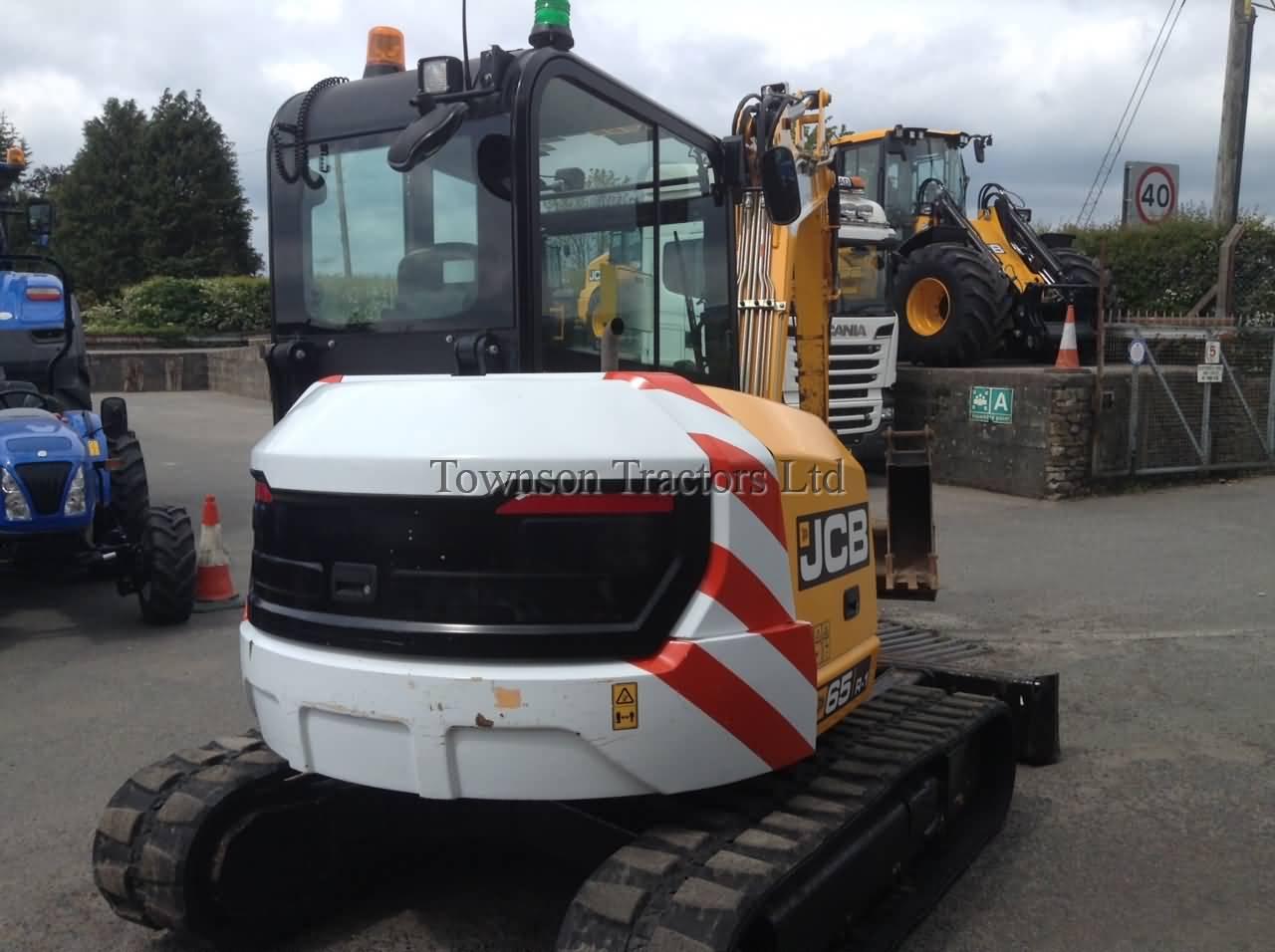 JCB 65R-1 midi excavator - Townson Tractors